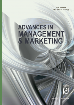 Advances in management & marketing